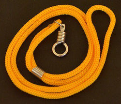 Gold Braided Nylon Thai Amulet Necklace