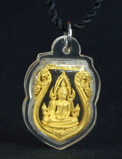 Gold Waterproof Chinnarat Buddha Shield