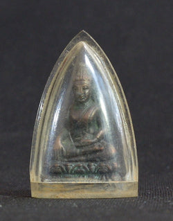 Bronze Buddha Figurine in Waterproof Case