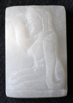 Unique Premium White Jade Nang Kwak Amulets - WLK Collection