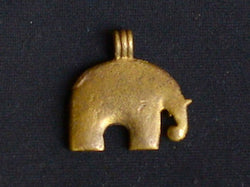 Thailand Elephant Pendant - Solid Brass