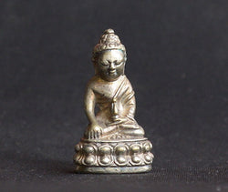 Buddha Figurine - Nickel