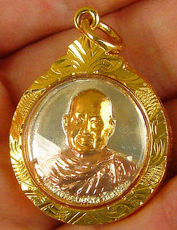 Ajahn Jumnien Tricolor Good Luck Thai Amulet