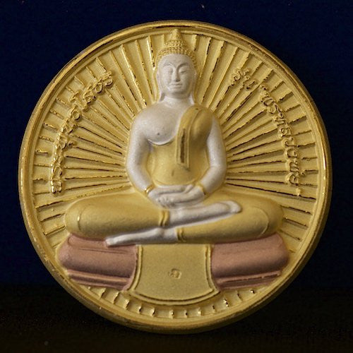 Limited Edition Tricolor Sothorn Buddha with Radiance Amulet