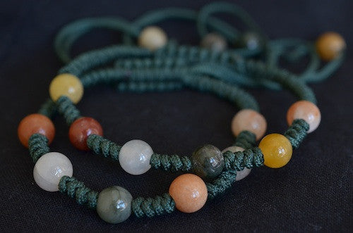 Fancy Green Bracelet with Stones