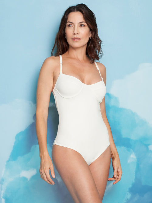 Sophisticated Ivory One Piece