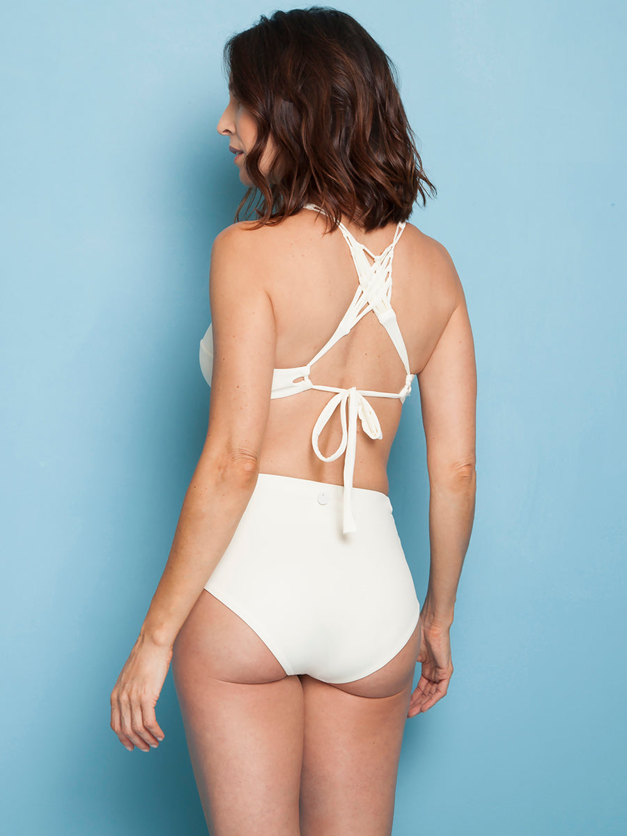 Ivory support top. - Knot Ivory Bottom