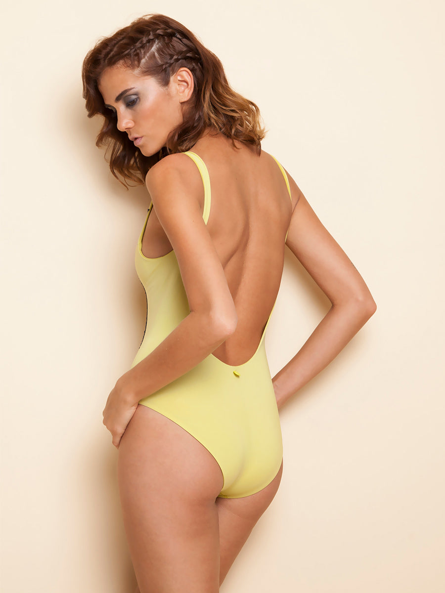 Spicy olive one piece
