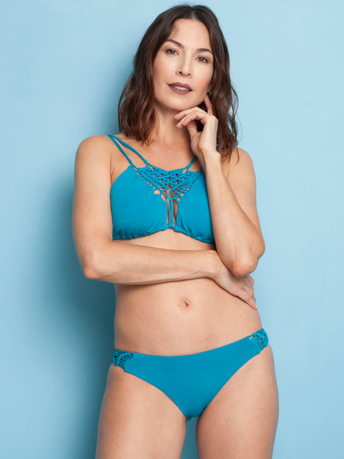Essential Blueberry Top - Essential Knots Bottom