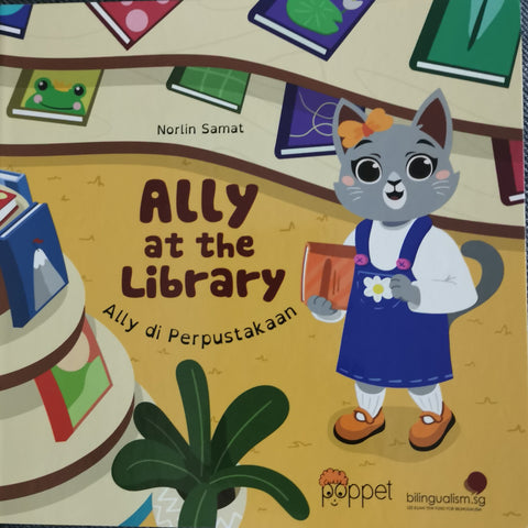 Ally At The Library / Ally Di Perpustakaan