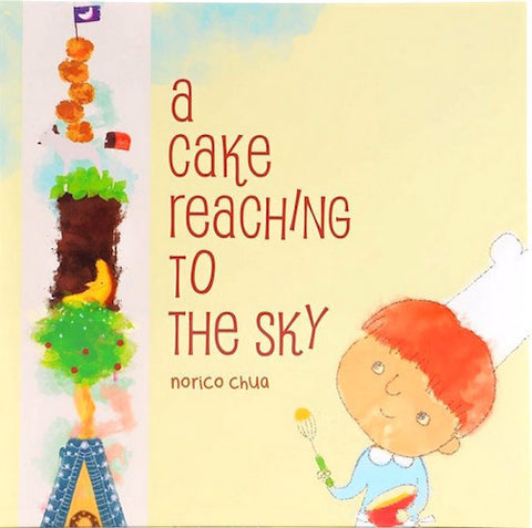 A Cake Reaching To The Sky