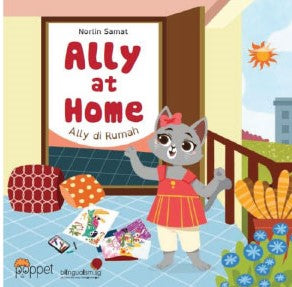 Ally at Home / Ally di Rumah (board book)