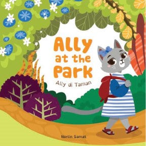Ally at the Park / Ally di Taman (board book)