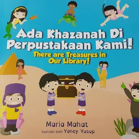 Ada Khazanah Di Perpustakaan Kami! / There Are Treasures In Our Library!
