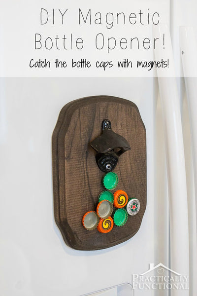 The Wall Mounted Bottle Opener Plank