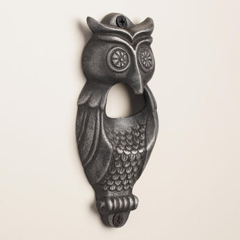 Owl Wall Mounted Bottle Opener | Mounting Hardware Included