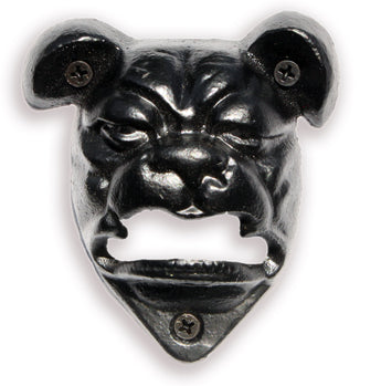 Bull Dog Wall Mounted Bottle Opener