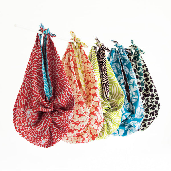 The popular reversible Furoshiki