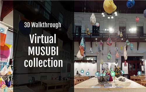3D walkthough Musubi collection!