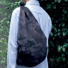 100 Water-repellent Outdoor | Camo Black