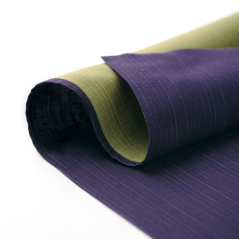 104 Cotton Reversible | Solid Color Purple/Green