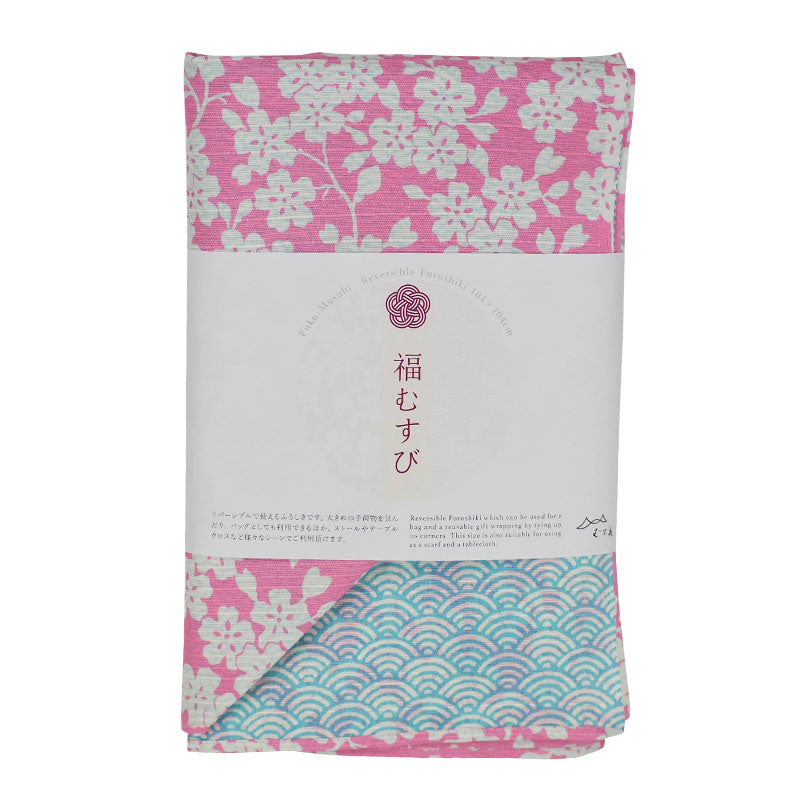NEW 104 Fuku Musubi | Cherry Blossom/Wave Purple/Blue