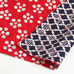 NEW 104 Fuku Musubi | Japanese Apricot/Pine and Bamboo Red/Navy