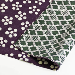 NEW 104 Fuku Musubi | Japanese Apricot/Pine and Bamboo Purple/Green