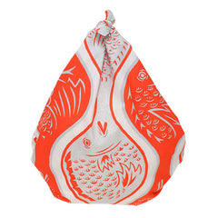 70 Fuku COCHAE  Sea Bream in Wavy Pattern Red
