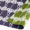 104 Isa monyo Reversible | Heart Vine Purple/Green