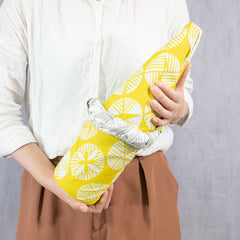104 Isa monyo Reversible | Pine Yellow/Gray