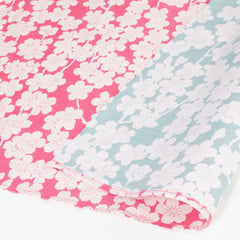 48 Isa monyo Reversible | Cherry Blossoms Cherry Pink/Mint