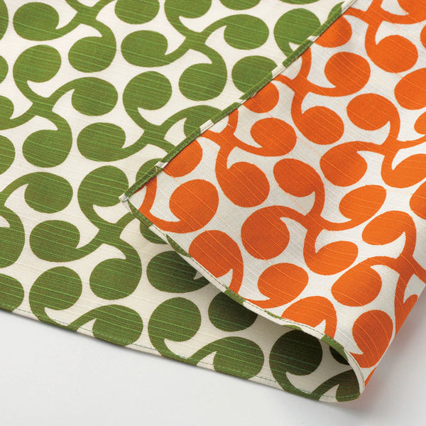 48 Isa monyo Reversible | New Sprout Green/Orange