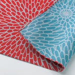 104 Isa monyo Reversible | Chrysanthemum Red/Blue