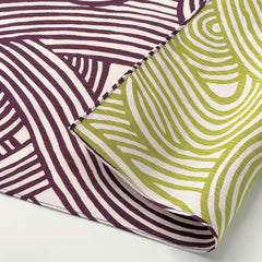 104 Isa monyo Reversible | Knot Purple/Green