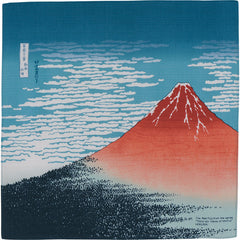 48 Ukiyo-e | South Wind,Clear Sky Navy blue