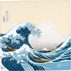 48 Ukiyo-e | Under The Wave Off Kanagawa Beige