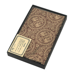 120 Shosoin Cotton Jacquard | Phoenix Brown