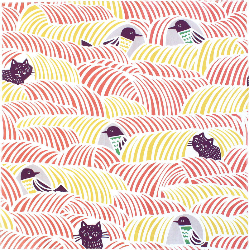 70 Cohare | Cats & Birds Pink
