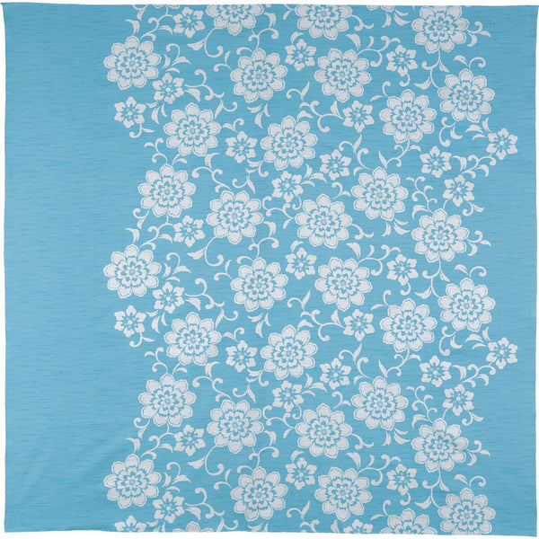 150 Kimono-tutumi | Flower Arabesque Light Blue