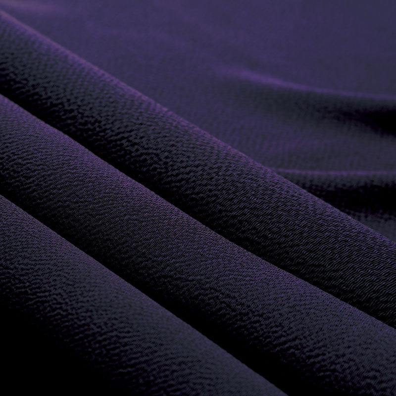 45 Silk Chirimen No.5 (Light weight) | Purple