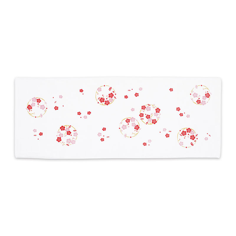 Gauze Hand Towel | Japanese Plim Red