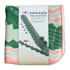 kata kata Fluffy Towel | Crocodile Pink