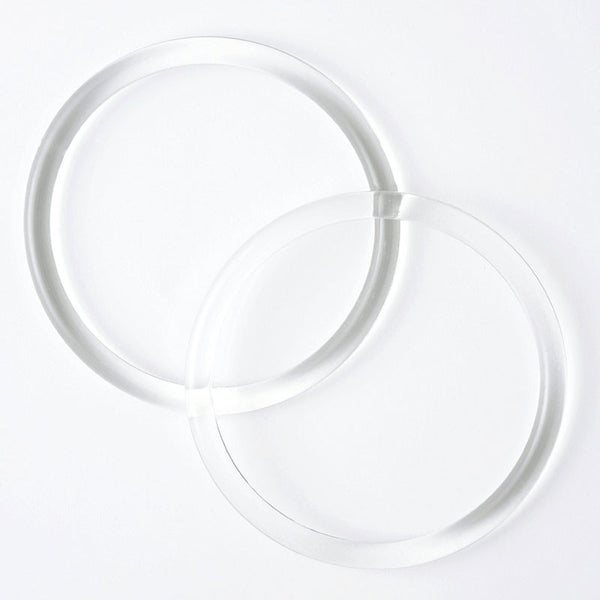 Furoshiki Bag Rings (Handles) | Clear