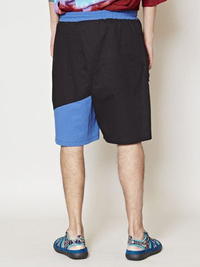 Bi-color Men's Shorts-Ametsuchi