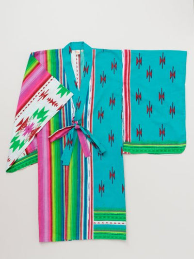 Mexican Pattern Separated Kid's YUKATA-Kleidung-Ametsuchi
