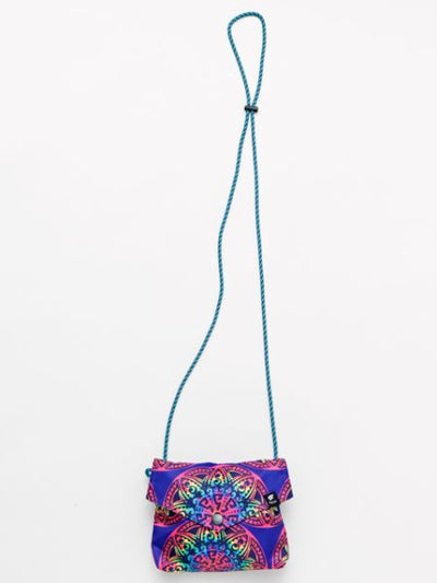 Ethnic Print Mini Sling Bag-Bags & Purses-Ametsuchi