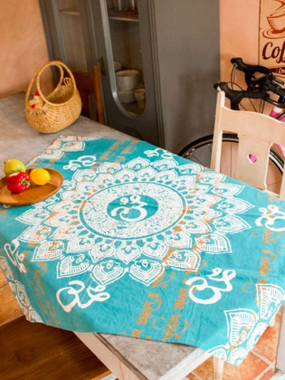OM Mandala Tapestry Cloth