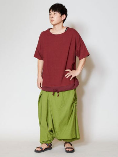 Plain Oversized Top-T-shirts & Cutsew-Ametsuchi