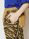 Feather Print SUTETEKO Shorts